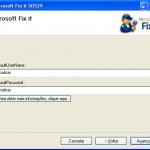 Microsoft Hotfix 50529 - Segunda etapa
