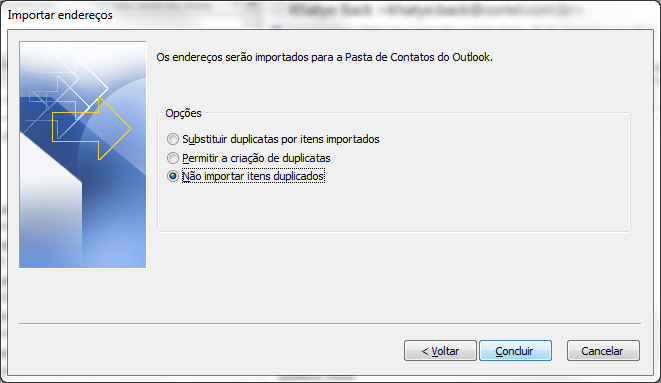 Configuração do Ms Outlook - Parte 4
