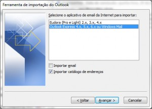 Configuração do Ms Outlook - Parte 3