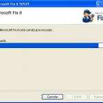 Microsoft Hotfix 50529 - Terceira etapa